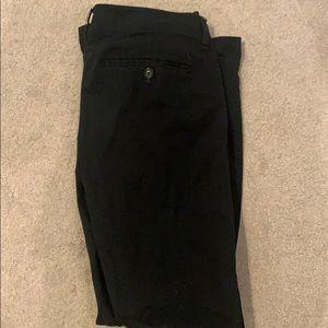 Black AE kickboot pants